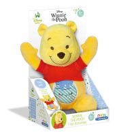 Clementoni Small Winnie the Pooh Light Up Plush Teddy